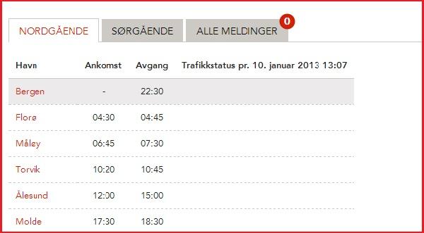 Tidtabell Hurtigruta Bergen - Molde.jpg